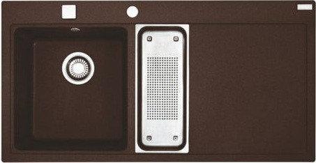 Мойка кухонная Franke MTG 651-100 шоколад
