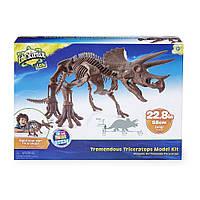 """Детский набор """"Скелет динозавра. Трицератопс""""  EduScience"""