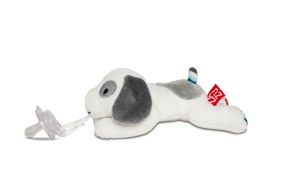 ZAZU - Держатель-игрушка для пустышки Собачка Dexy
