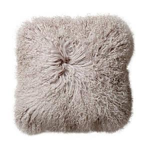 Подушка из шерсти ягнят монгольских