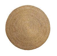 Ковер круглый из морской травы 120 см