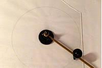 Циркуль-устройство для резки стекла по кругу (D от 80 до 400мм)