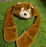 Шапка шарф! теплая! сост отличное! зима!