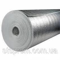 Полотно ППЭ 2мм ламинированное(подложка под теплый пол)