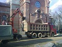 Вывоз строительного мусора, услуги по вывозу мусора, вывоз мусора