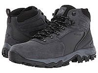 Ботинки Сапоги (Оригинал) Columbia Newton Ridge Plus II Suede WP Shark Black 59a44f092d92e