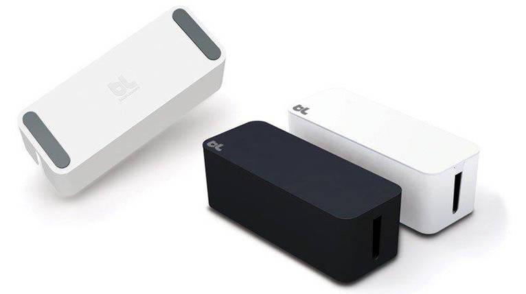 Контейнер для проводов CableBox белый, фото 2