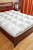 Одеяло пуховое кассетное Билана Элитное 90% пух 140х205 см