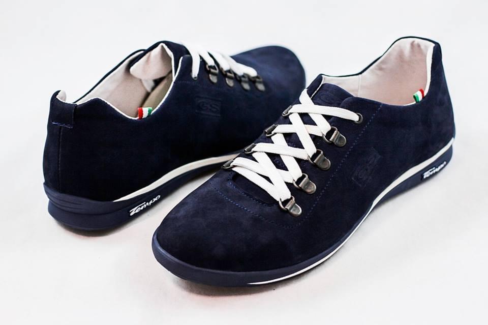 Мужские туфли кроссовки GS синие ,натуральная замша,размеры 40, 41, 42, 43, 44, 45