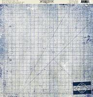 Бумага для скрапбукинга Authentique Artistic, 30х30