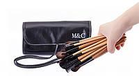 Набор кистей для профессионального макияжа M&C визажа (24 шт)