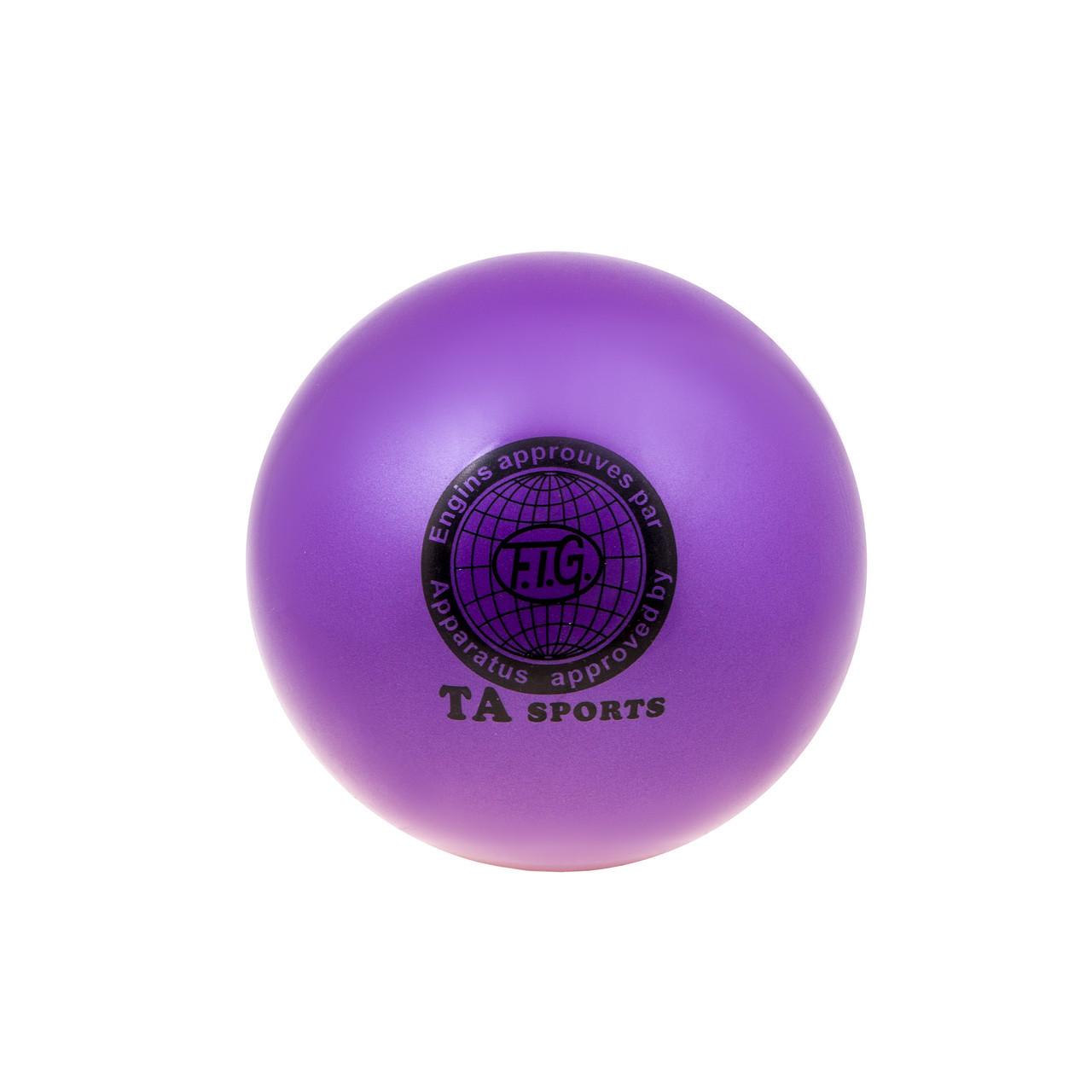 Мяч гимнастический сиреневый TA SPORT TA-1922