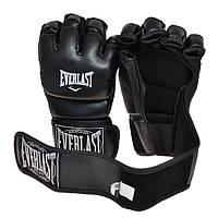 Рукопашные перчатки винил Everlast черные EVDX364-BL (реплика)