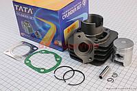 Цилиндр в сборе на скутер  Honda TACT фирма ТАТА
