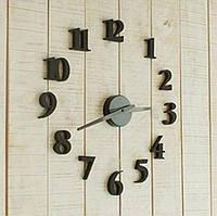 Настенные часы - стикеры объемные 3D арабские цифры