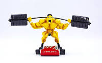 Статуэтка (фигурка) наградная спортивная Тяжелая атлетика Штангист C-2248-A8 (р-р 30х8х14см)