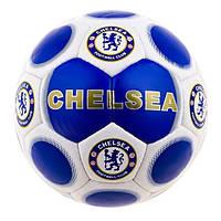 Мяч футбольный Duxion Chelsi  Blue/Gold CHEL-3DXN