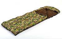 Спальный мешок одеяло с капюшоном камуфляж UR SY-4798