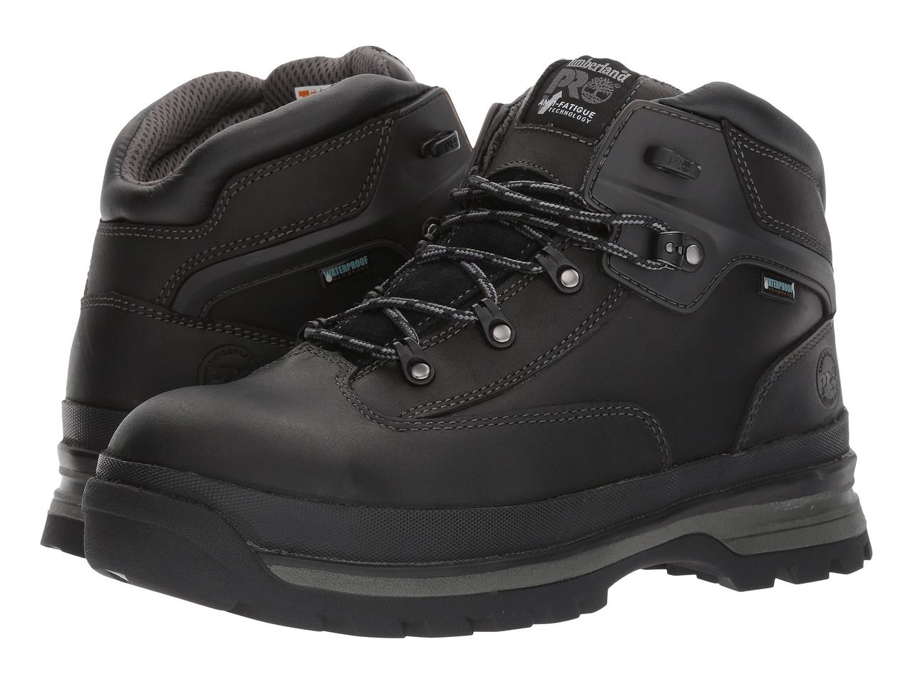 Ботинки Сапоги (Оригинал) Timberland PRO Euro Hiker Alloy Safety Toe  Waterproof Black Full ab4328d832f