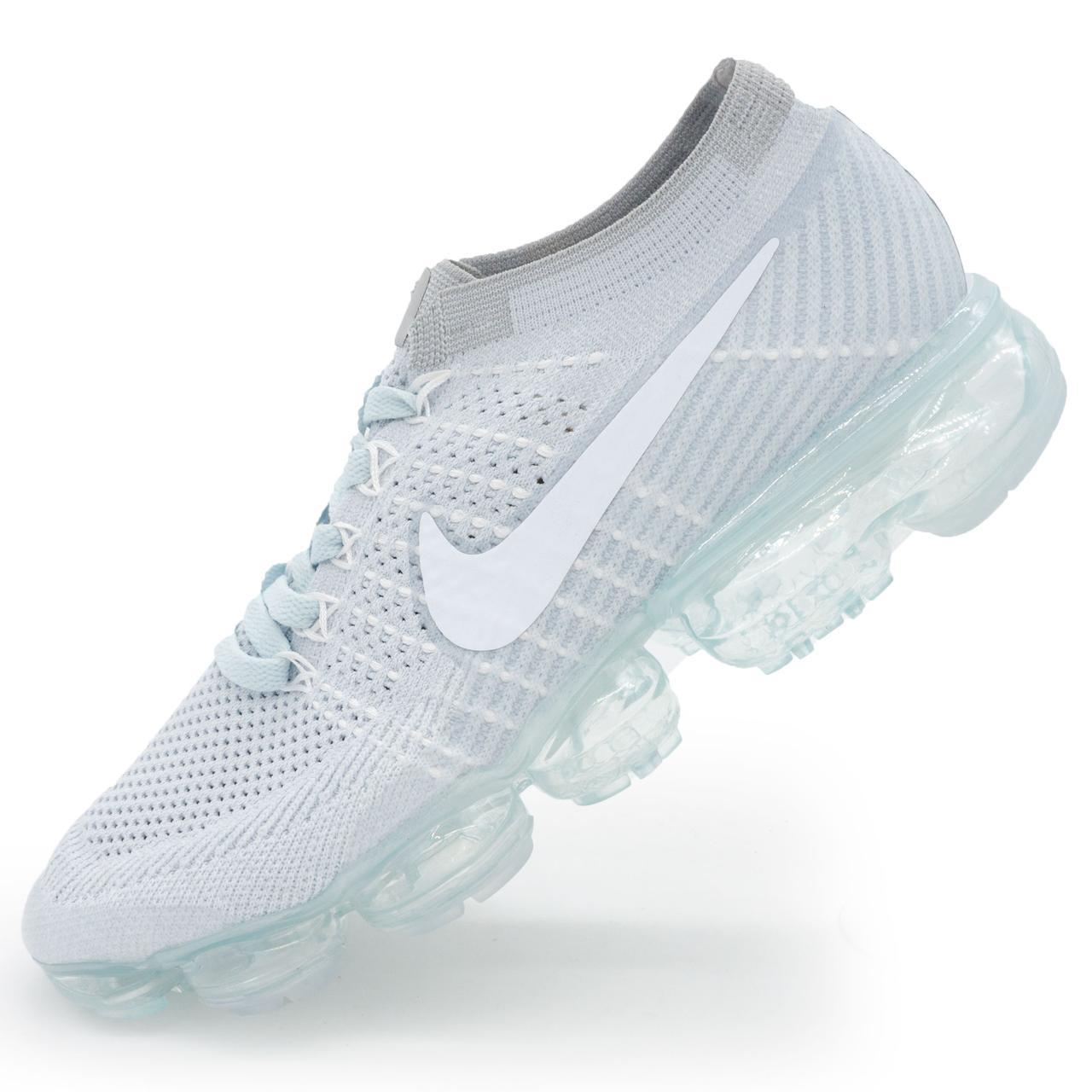 595c05fa Мужские и женские кроссовки для бега Найк Nike Air VaporMax серые. р.(38