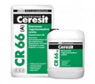 Эластичная двухкомпонентная гидроизоляционная смесь (Церезит) CR66 (17,5 кг+5л)