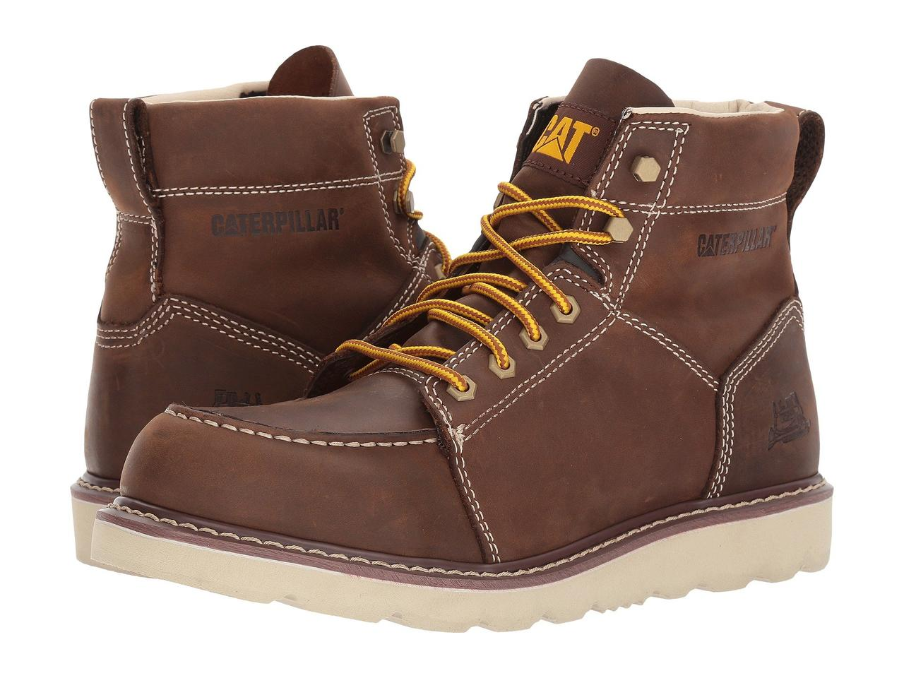 Ботинки/Сапоги (Оригинал) Caterpillar Tradesman Chocolate Brown Nubuck