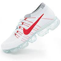 Мужские и женские кроссовки для бега Найк Nike Air VaporMax белые. - Реплика р.(36, 37, 38, 39, 40, 41, 42, 43, 44)