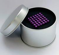 НЕОКУБ [NeoCube] фиолетовый+Металлическая коробка в ПОДАРОК!