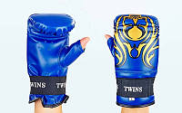 Снарядные перчатки с открытым большим пальцем DX TWINS MA-5437-B