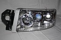 Купить левую хром фару на грузовик Renault PREMIUM 07+