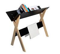 Шкаф для книг и газеты Lesefutter черная