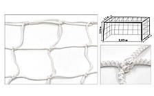 Сетка на ворота футзальные (капрон 4,5мм, яч.12см) SO-5289