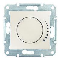Светорегулятор емкостной поворотно-нажимной 25-325 Вт/ВА Sedna (Шнейдер Электрик Седна) Слоновая кость