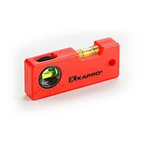 Уровень Mini-Level миниатюрный с угломером, пластиковый, 95 мм KAPRO