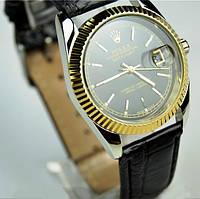 Наручные кварцевые часы Rolex с календарем , фото 1