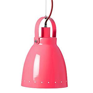 Лампа металлическая Done by deer красный