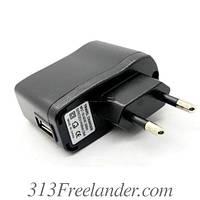 Сетевое зарядное USB 5V 1A, 2A Только ОПТОМ! В наличии!Лучшая цена!