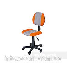 Дитяче комп'ютерне крісло FunDesk LST4 Orange-Grey