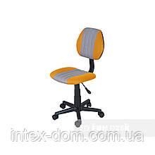 Дитяче комп'ютерне крісло FunDesk LST4 Yellow-Grey