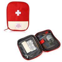 Портативная водоустойчивая чрезвычайная сумка мешок первой помощи Красный
