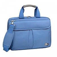 Синяя сумка с влагонепроницаемой ткани для ноутбука  Sumdex арт. PON-315BU