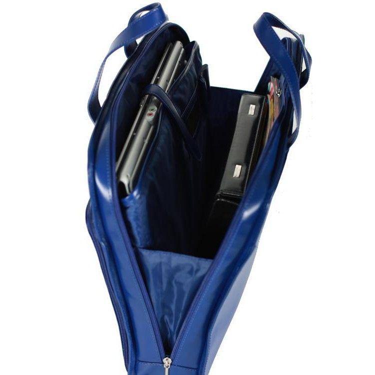 d8adeb8259b6 Синяя кожаная сумка для ноутбука 15.4 дюймов Sumdex арт. SLN-062NV, цена 1  430 грн., купить в Киеве — Prom.ua (ID#283462690)
