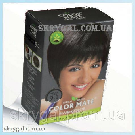 Краска для волос натуральная черная