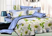 Двуспальный комплект постельного белья евро 200*220 хлопок  (6421) TM KRISPOL Украина
