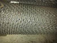 Сетка рабица оцинкованная 65х65 д.1,8 h1.5м, фото 1