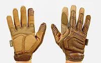 Перчатки тактические с закрытыми пальцами MECHANIX MPACT BC-5622-H