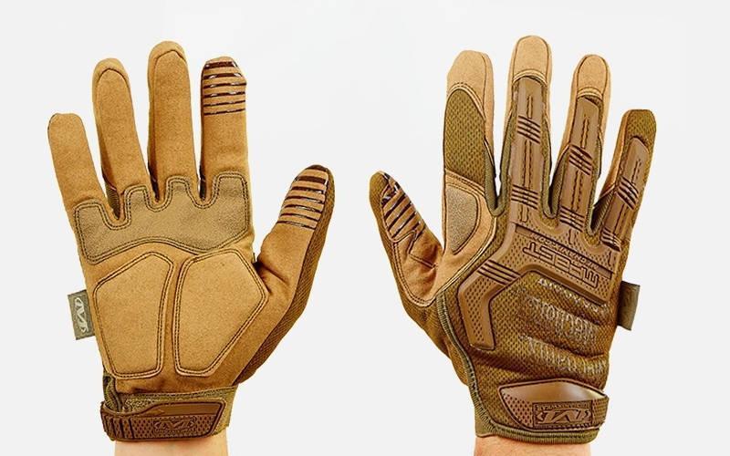 Перчатки тактические с закрытыми пальцами MECHANIX MPACT BC-5622-H - Gsport в Харькове