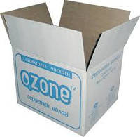 Четырёхклапанный ящик с флексопечатью.