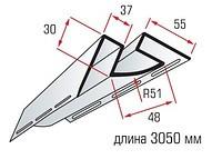 Планка внутреннего угла для сайдинга