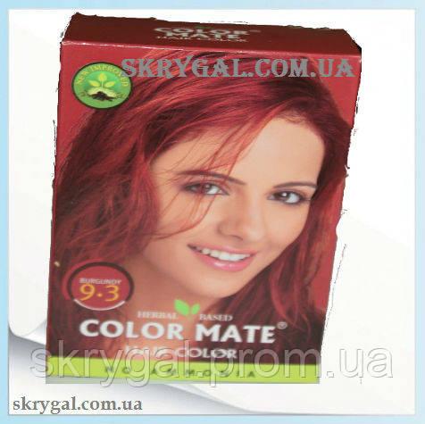 Индийская краска для волос. Бургунд. хна натуральная